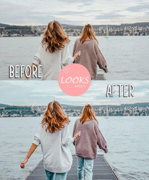 Europe Travel Blog Preset for lightroom to design instagram