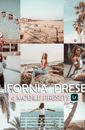 California Travel Blog Preset for lightroom to design instagram