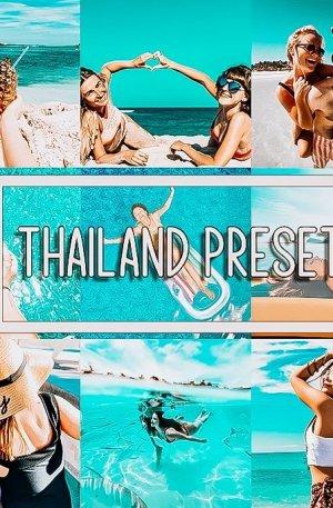 Thailand Travel Blog Preset for lightroom to design instagram