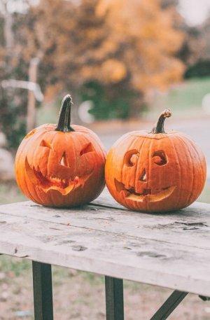 Halloween Preset for lightroom to design instagram