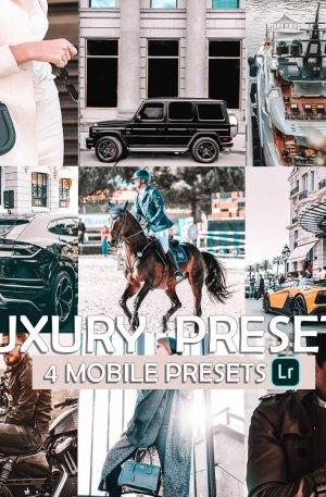 Luxury Travel Blog Preset for lightroom to design instagram