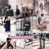 Vintage Preset for lightroom to design instagram presets