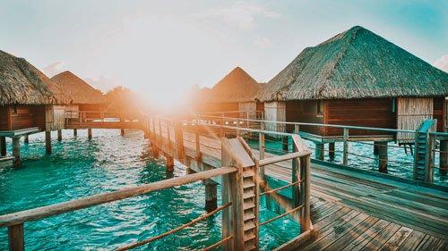 Bora Bora Preset for lightroom to design instagram presets