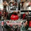 Fitness Preset for lightroom to design instagram presets