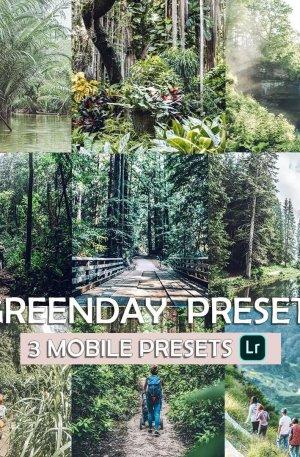 Green Day Preset for lightroom to design instagram presets