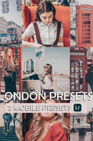 London Preset for lightroom to design instagram presets