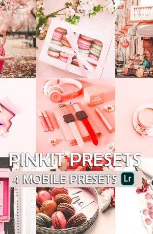 Pinkit Preset for lightroom to design instagram presets