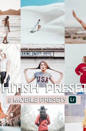 Whitish Preset for lightroom to design instagram presets