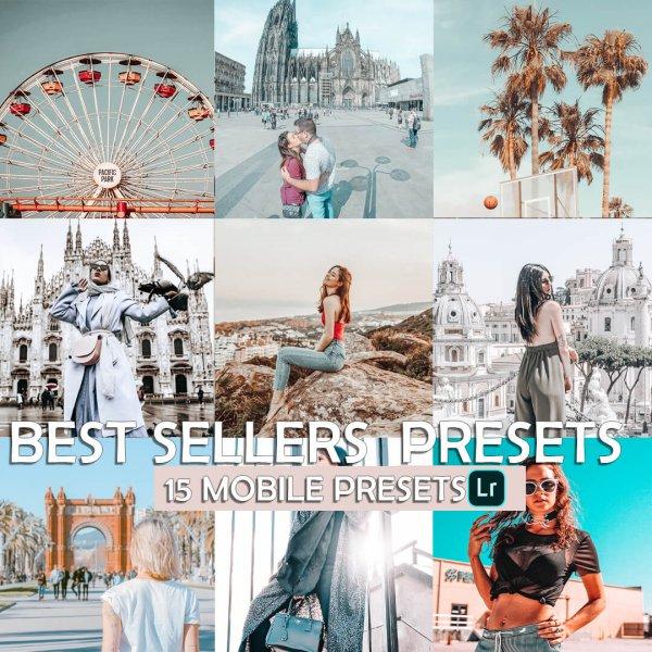 Best Sellers Bundle Preset for lightroom to design instagram presets