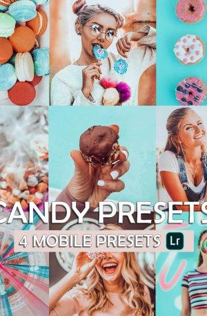 Candy Preset for lightroom to design instagram presets