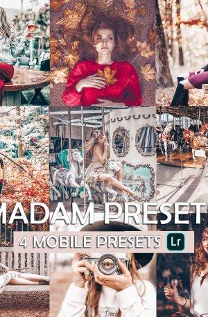 Madam Preset for lightroom to design instagram presets