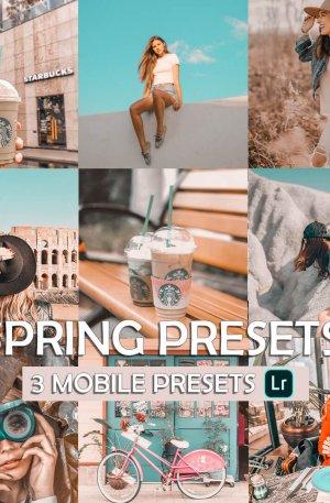 Springs Preset for lightroom to design instagram presets