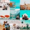 Travel Bundle Preset for lightroom to design instagram presets