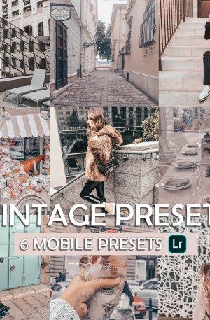 Wintage Wall Preset for lightroom to design instagram presets