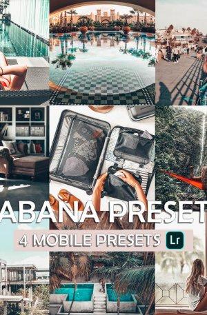 Cabana Preset for lightroom to design instagram presets