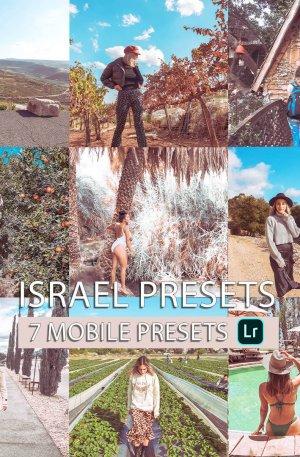 Israel Preset for lightroom to design instagram presets