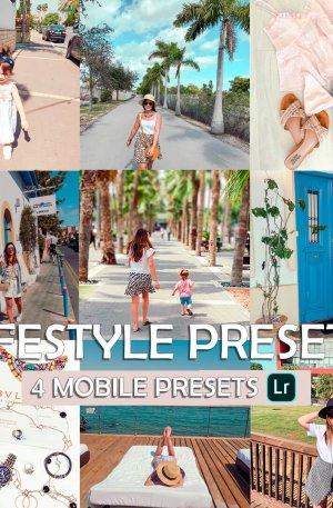 Lifestyle Preset for lightroom to design instagram presets