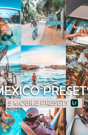 Mexico Preset for lightroom to design instagram presets