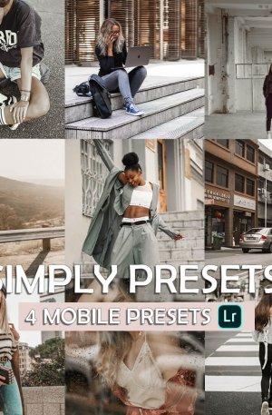 Simply Preset for lightroom to design instagram presets