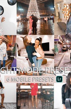 Night Mode Preset for lightroom to design instagram presets