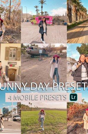 Sunny Day Preset for lightroom to design instagram presets