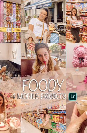 Foody Preset for lightroom to design instagram presets