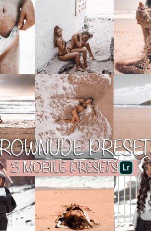 Brownude Preset for lightroom to design instagram presets