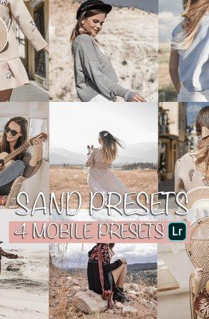 Sand Preset for lightroom to design instagram presets
