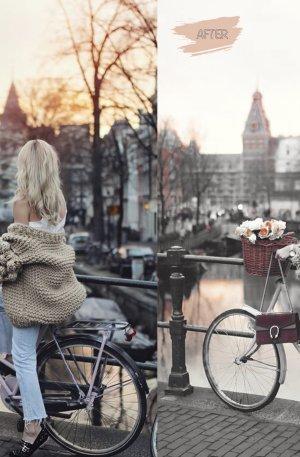 Amsterdam Preset for lightroom to design instagram presets