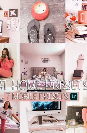 At Home Preset for lightroom to design instagram presets