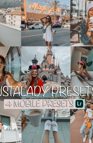 Instalady Preset for lightroom to design instagram presets