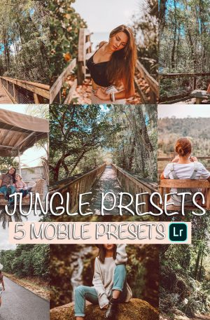 Jungle Preset for lightroom to design instagram presets