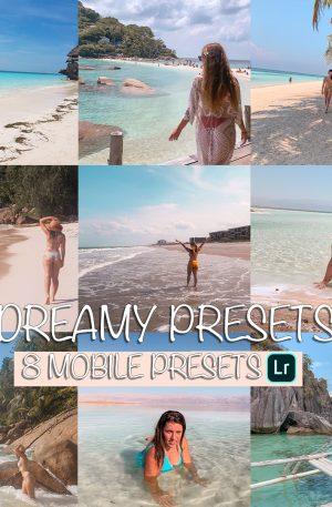 Dreamy Preset for lightroom to design instagram presets